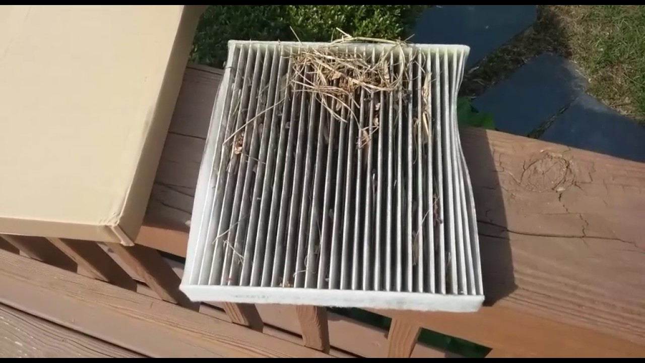 air conditioning filter replacement. dirty cabin air filter? car conditioner ac filter replacement tip conditioning