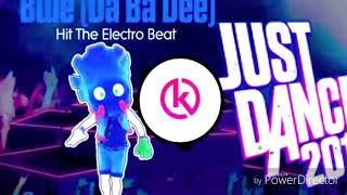 """DA BA DEE"" flash MUSIC JUST DANCE"