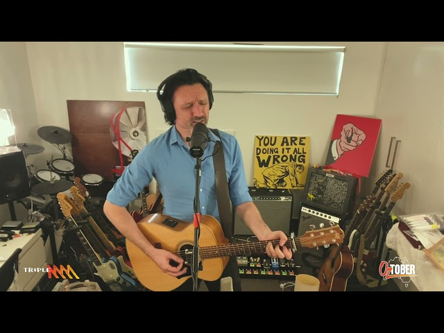 Something For Kate Cover Divinyls 'Back To The Wall' For Oztober | Triple M