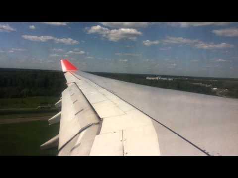 Aeroflot A330 - 300 landing in Moscow