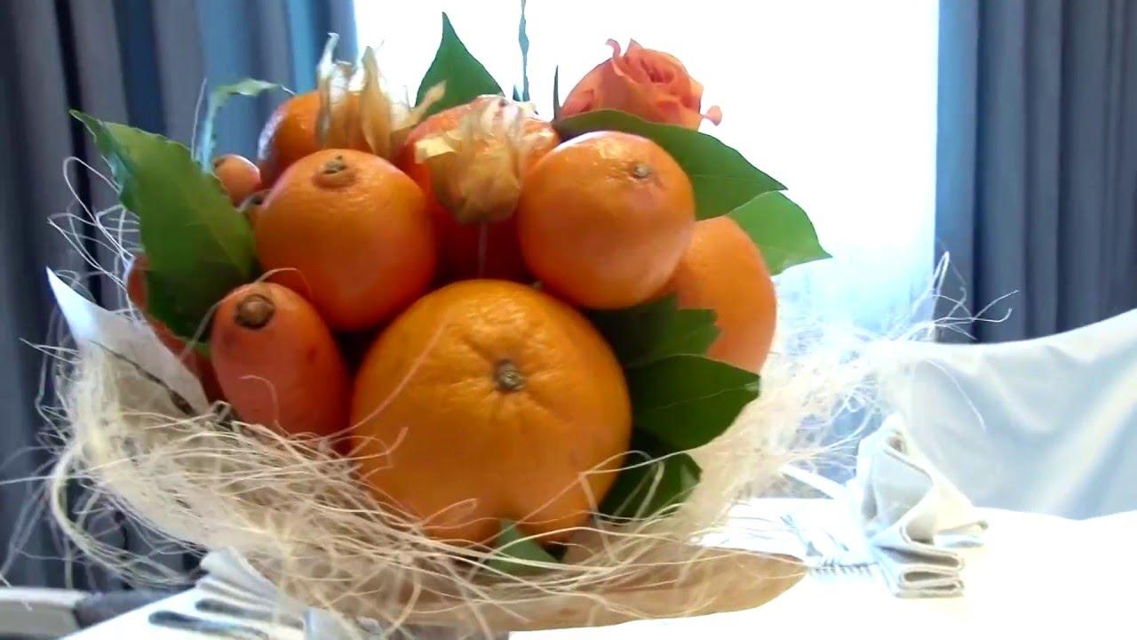Делаем фрукты своими руками из