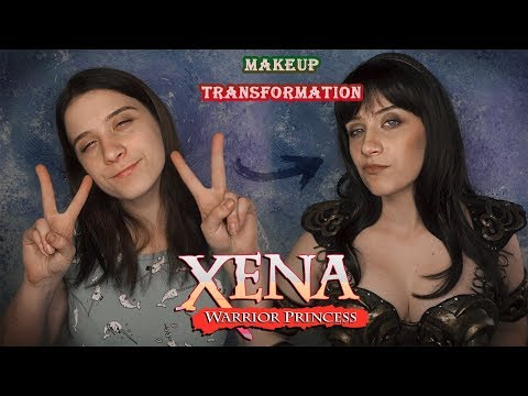 Перевоплощаюсь в героиню детства |ЗЕНА - КОРОЛЕВА ВОИНОВ| XENA:WARRIOR PRINCESS COSPLAY Makeup