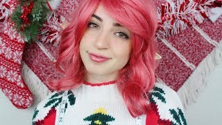 [ASMR] Mistletoe the Elf Invites You to Dinner