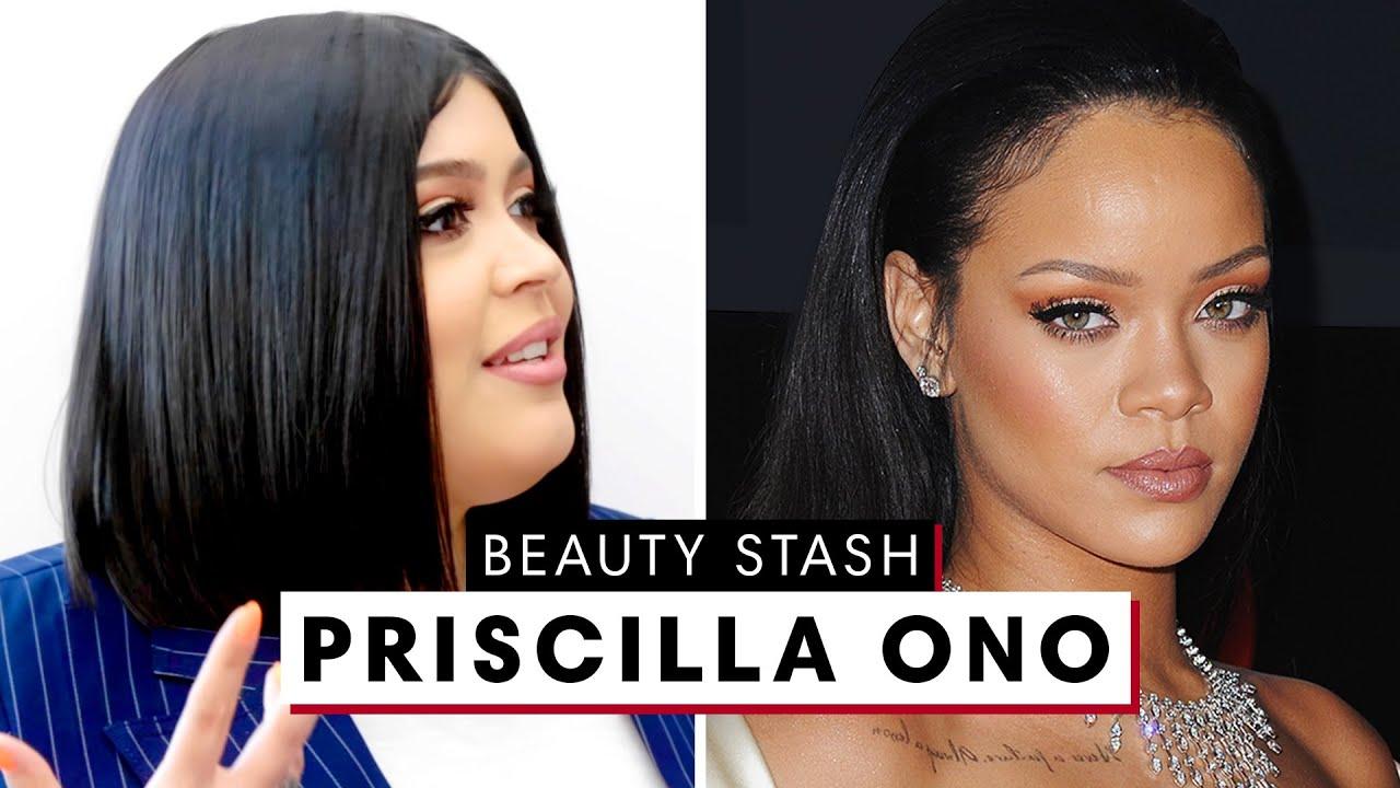 Rihanna's Makeup Artist Priscilla Ono's Massive Fenty Beauty Closet | Beauty Stash | Harper's BAZAAR