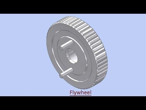Flywheel (Video Tutorial) Autodesk Inventor