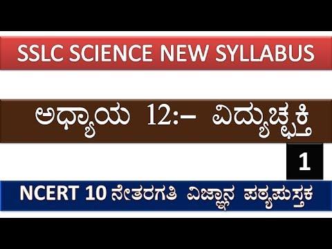 SSLC SCIENCE Ch:-12   Electricity     PART1