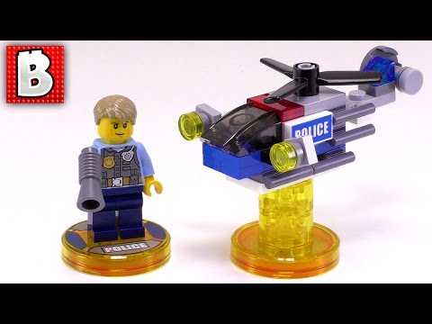 LEGO Dimensions City Fun Pack 71266  | Unbox Build Time Lapse Review