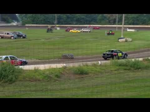 Dustin Virkus @ KRA Speedway- Heat 8.31.17