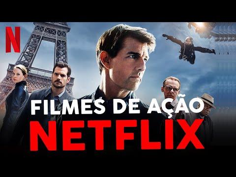 5 FILMES DE AÇÃO NA NETFLIX PARA VER HOJE!