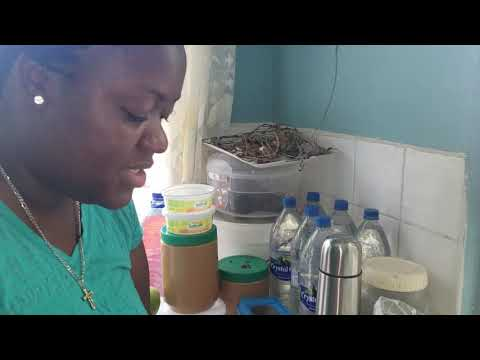 Cooking With Valencia Local Dish/green Fig And Saltfish/St.lucia