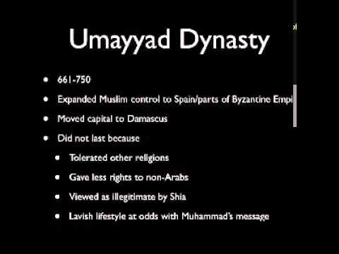 Compare and Contrast the Umayyad