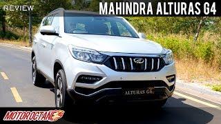 Mahindra Alturas G4 | Hindi Review | MotorOctane
