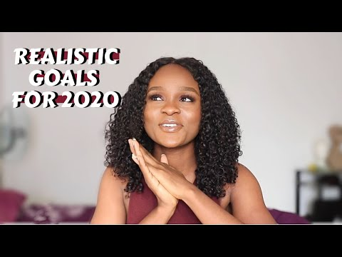 MY NEW YEAR RESOLUTIONS | How To Set Realistic Goals For 2020