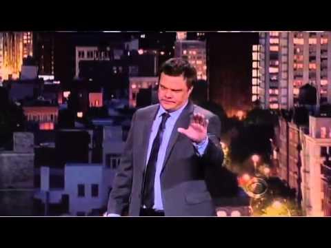 Tim Harmston on Late Show