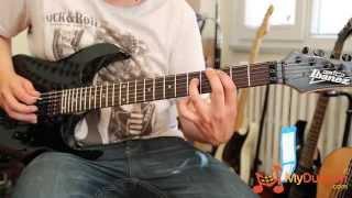 ibanez grg270b bkn elektro gitar test odası bi kuple