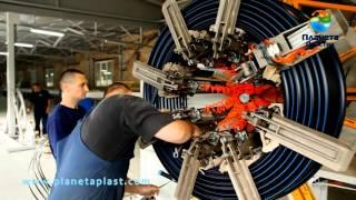 Производство полиэтиленовых труб Планета Пластик