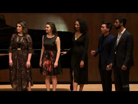 Act 2 Quintet from Bizet's 'Carmen' | Juilliard Emmanuel Villaume Vocal Arts Master Class