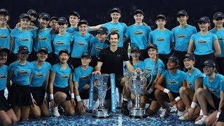 Watch Highlights Murray Beats Djokovic To Finish No. 1 In London