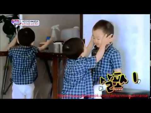 Minguk and Manse before and now youtube original