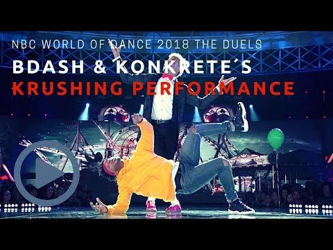 NBC World Of Dance 2018 BDash & Konkrete´s The Duels Full Performance