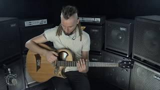 Percussive Acoustic Bass Lesson -  Dmitry Lisenko