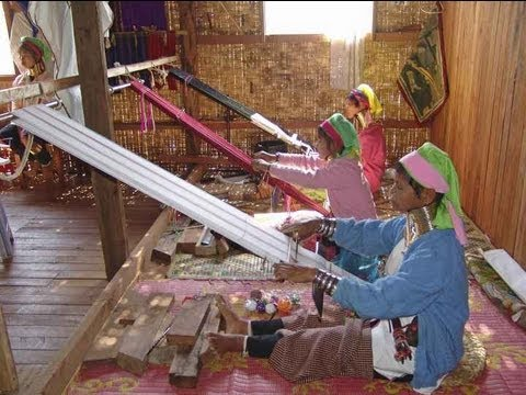 Cottage Industry In Myanmar Burma Youtube