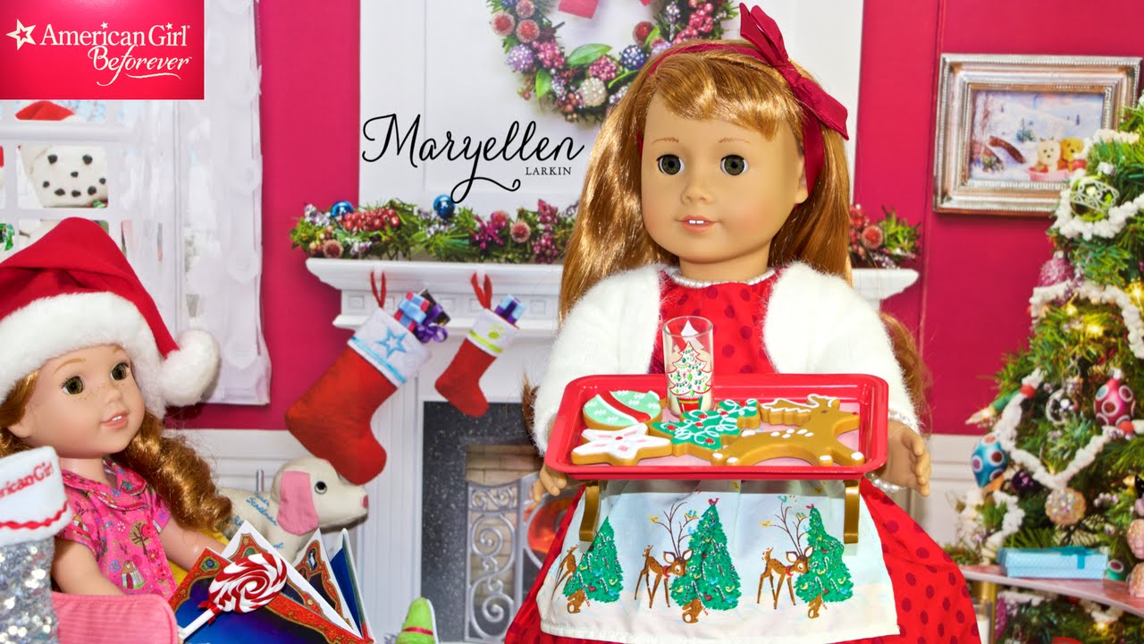 Maryellen's Christmas Party | American Girl Doll - YouTube
