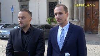 Konrad Berkowicz ogłasza Kamila Kupca kandydatem na wiceprezydenta Krakowa