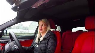 Juliet Drives the BMW X2
