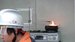 天ぷら油は自然に発火する