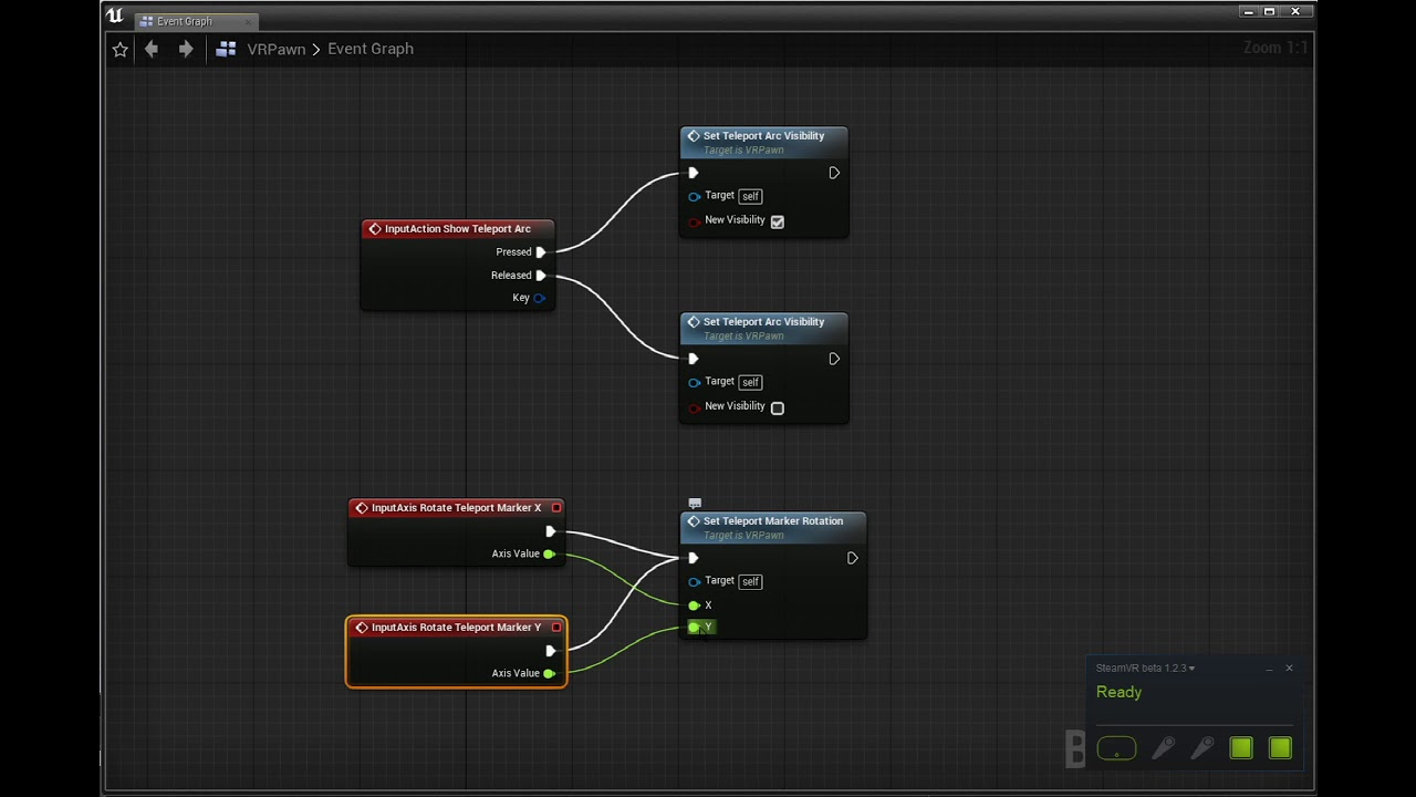 GETTING STARTED ON THE NEW STEAMVR INPUT SYSTEM WITH UNREAL ENGINE 4 21