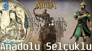YENİDEN ANADOLU SELÇUKLU #03 [LEGENDARY] - Medieval Kingdoms 1212 AD Total War: Attila [TÜRKÇE]