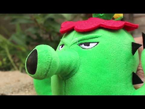 Plants vs Zombies Plush Toys: Cactus - RIP | MOO Toy Story