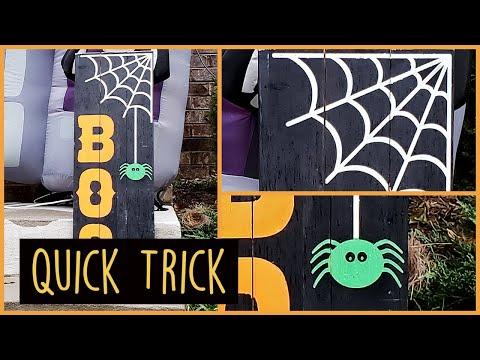 Halloween Porch Decor Ideas / Halloween DIY Decor  / EASY + CHEAP