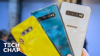 Samsung Galaxy S10e vs S10 vs S10 Plus - Which Should You Buy? | The Tech Chap