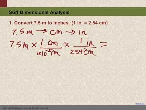 10 Sg1 1 Convert Meters To Inches Youtube
