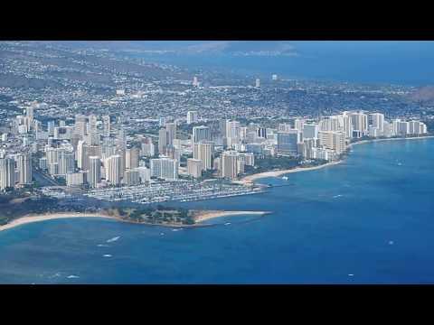 AirAsiaX Honolulu dep. D72 seat 2A windoow view
