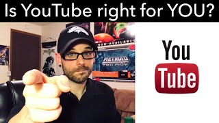 Doing YouTube in 2018 - is it right for YOU? | Ro2R