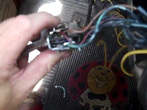 Electrical work on my VW Bus 71 Fix your wires Volkswagen wiring