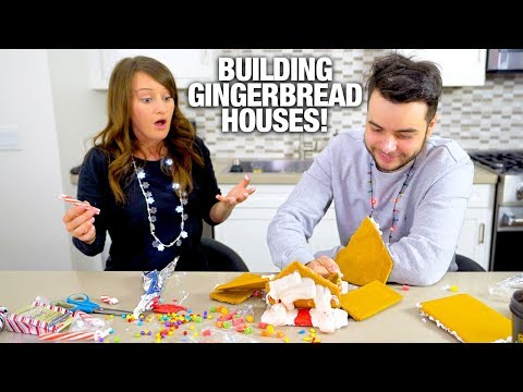 Download Youtube: HE BROKE MY GINGERBREAD HOUSE!