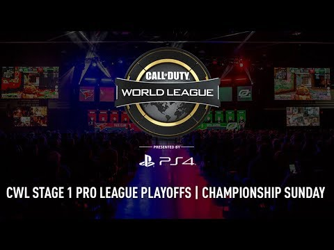 CWL Pro League Stage 1 Playoffs 2018 | Championship Sunday | Full Broadcast