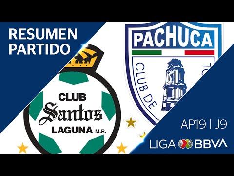 Resumen y Goles | Santos Laguna vs Pachuca | Apertura 2019  - Jornada 9 | Liga BBVA MX