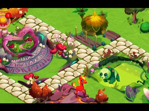 Fantasy Forest Story Gameplay Breeding Evolution