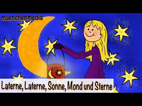 Laterne, Laterne, Sonne, Mond und Sterne - Sankt Martin | Laternenumzug | Kinderlieder deutsch
