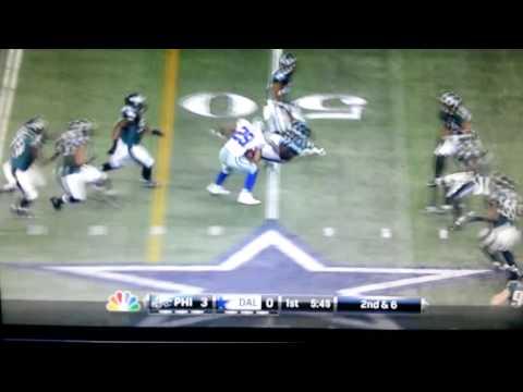 Demarco Murray Runs over Linemen Must Watch!!,