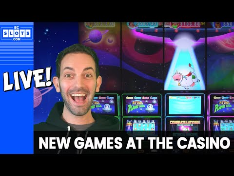 🔴 LIVE - Playing NEW GAMES At The Casino 🎰 Brian Christopher Slots