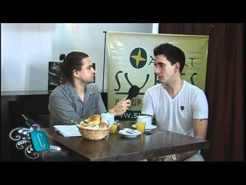 Entrevista a Román de El Original en Celebrity Cars Argentina por el El Garage Tv-Parte1