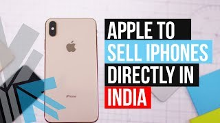 Gambar cover Apple To Sell iPhones On Online Apple Store In India : Tech Update