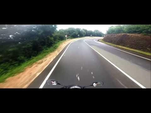 Ride towards the Hills from Mahiyanganaya to Kandy in Sri Lanka on a Honda CBR 600RR