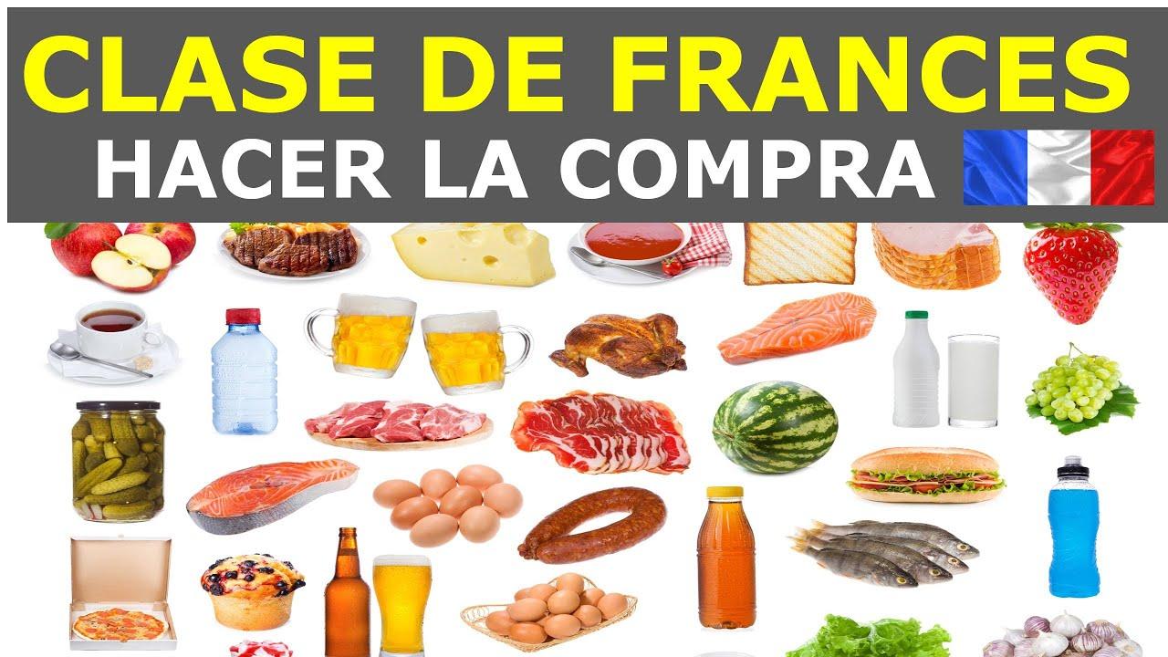 Aprender frances con dialogos en frances hacer la compra for A comer en frances